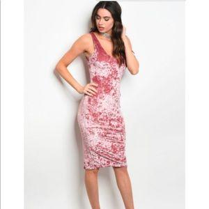 new fashion velvet dress